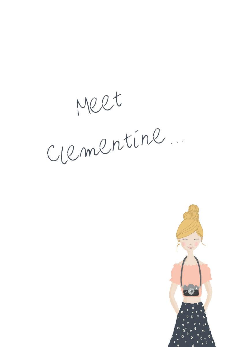 Notizblock Clementine A6 (c) Lomoherz