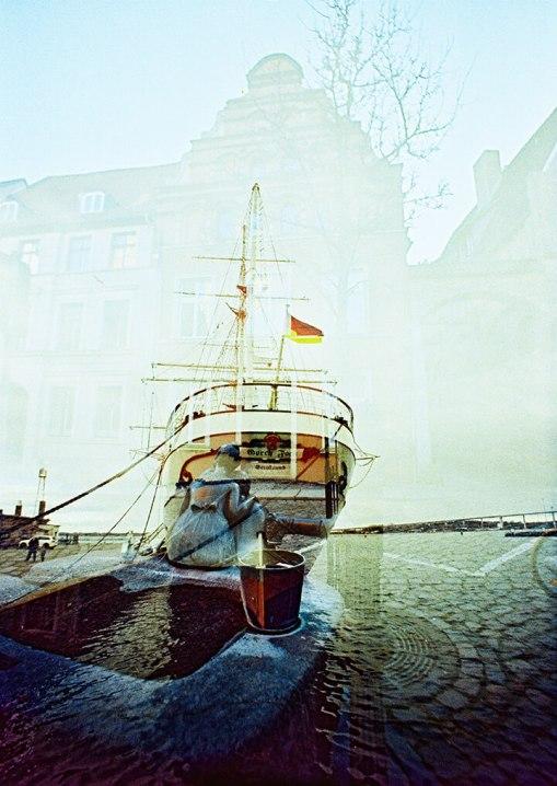 Stralsund (c) Lomoherz - analog, Lomo, Doppelbelichtung, XPro
