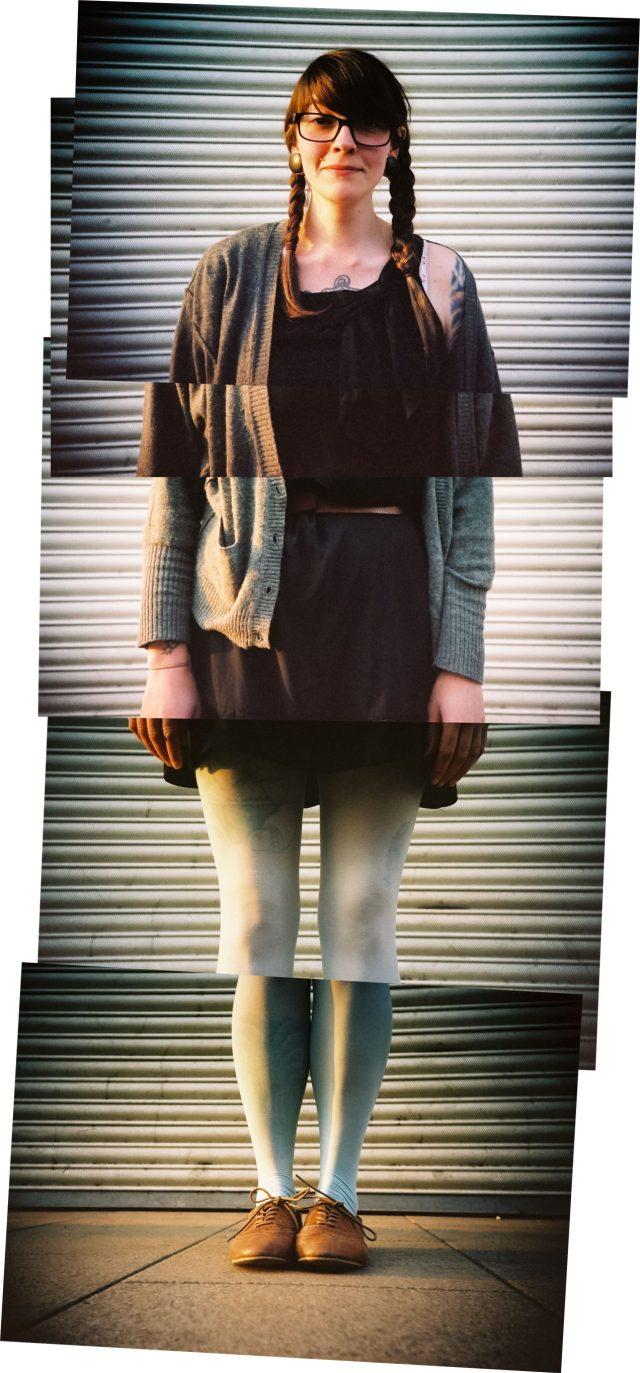 Street portrait shot in Brighton by Kevin Meredith aka lomokev