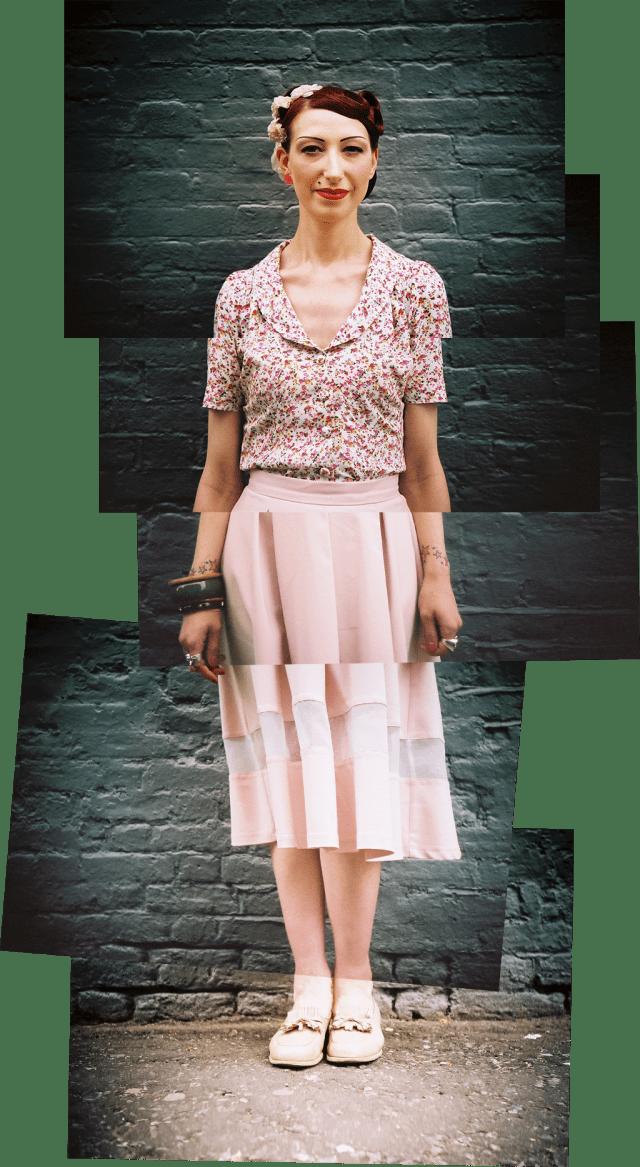Street style portrait - Twyla - August 2013