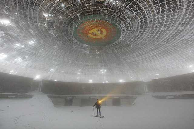 Buzludzha Monument by Timothy Allen