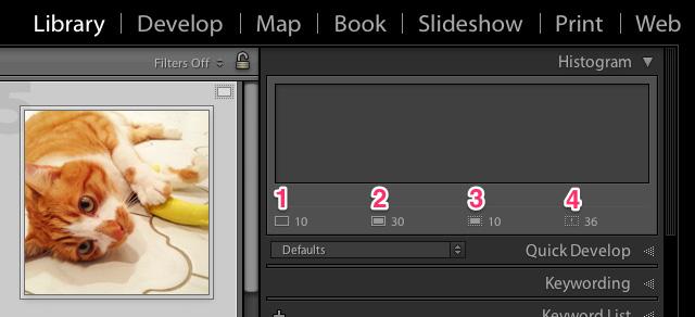 multiple images smart previews