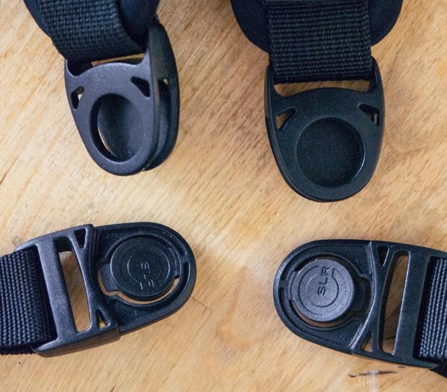 split strap quick release system