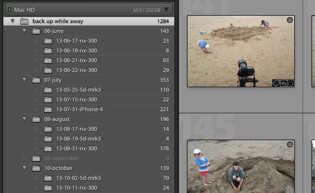 Lightroom 5 tip collapse all sub-folders and nested collections