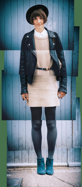 Brighton Street Style montage portrait