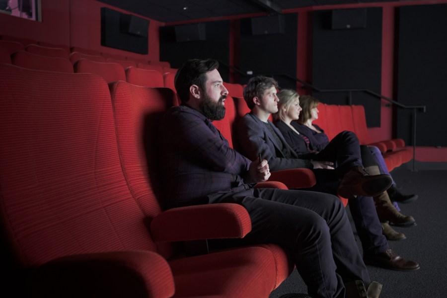 Aardman screening room