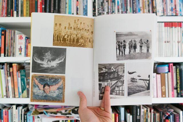 I Dare the Wave, A Life to Save also features material from Brighton Swimming clubs rich history
