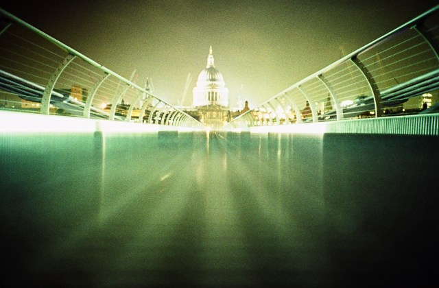 London Millennium Bridge one of early images I uploaded to Flickr