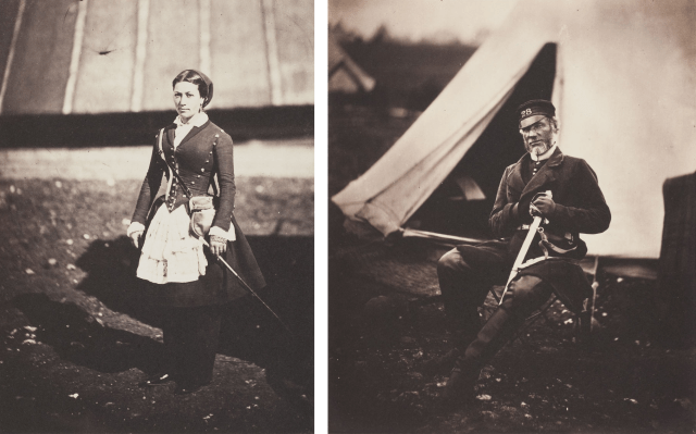 Cantinére by Roger Fenton and Captain Mottram Andrews by Roger Fenton 1855