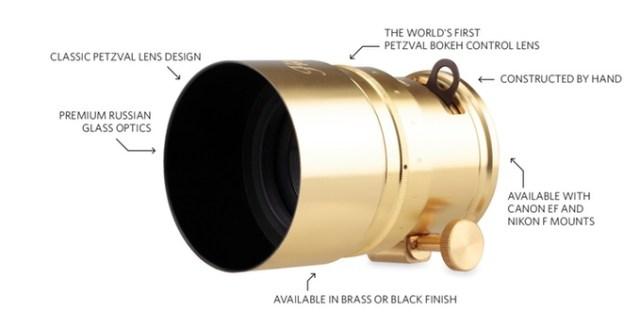 lomography 58mm petzval lens