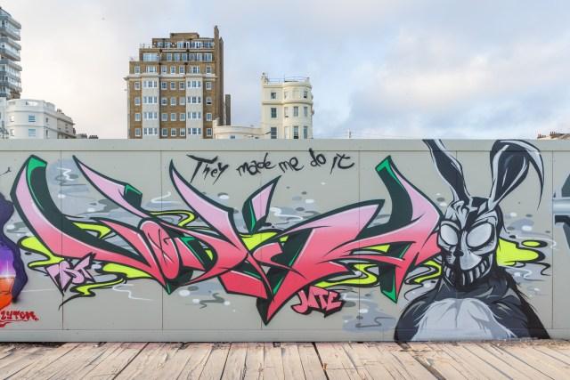 Vodka's graffiti
