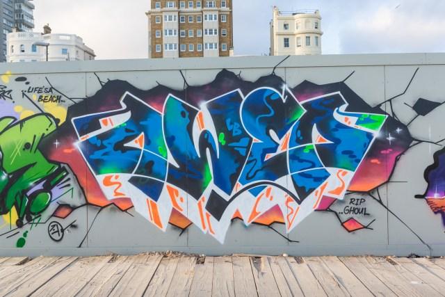 Owed's graffiti