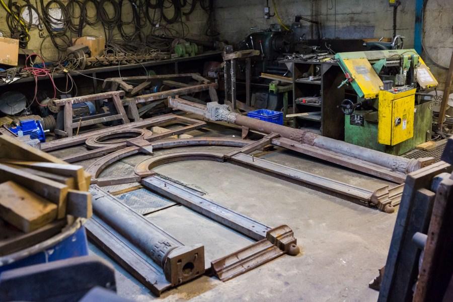 Swan Foundry Banbury - West Pier Restoration