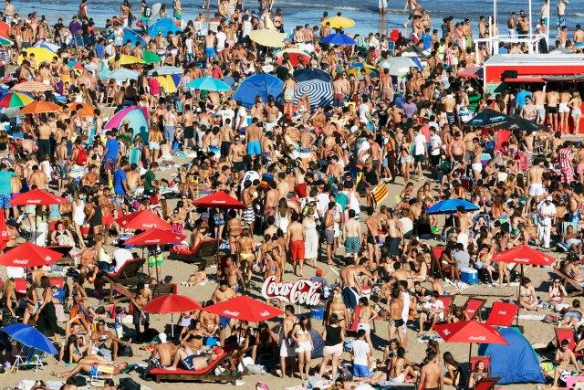 Martin Parr Argentin Mar Del Plata Grandé Beach 2014