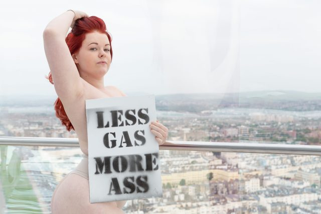 Less Gas More Ass