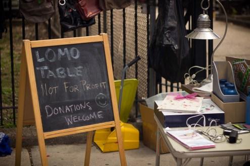 LoMo donation table