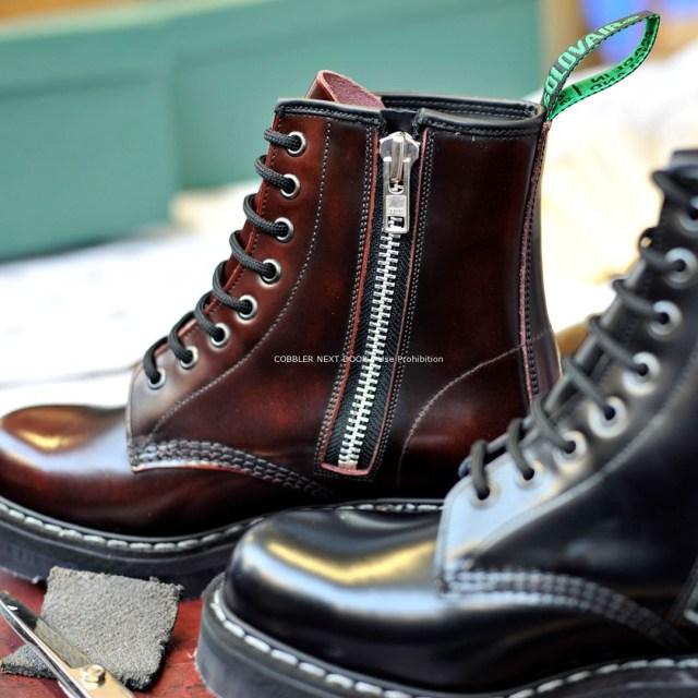 Solovairの厚底ブーツ