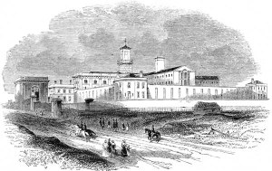 Where Wildman rode with bees - now stands Pentonville prison