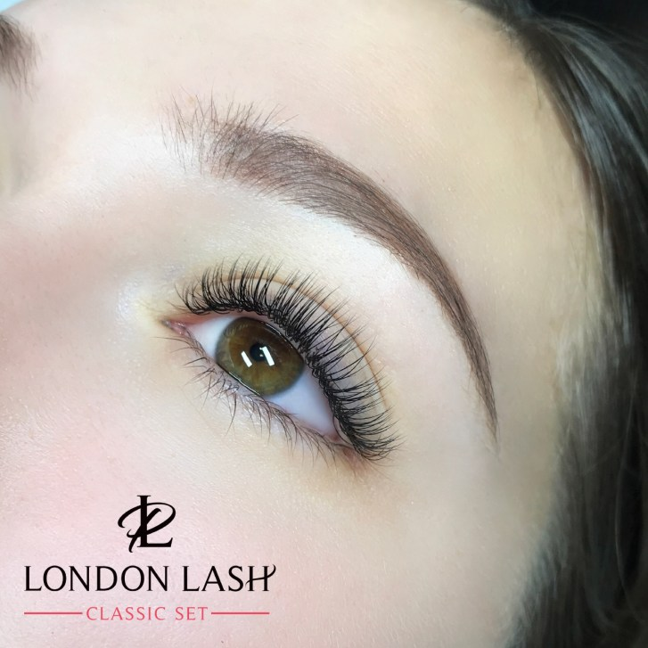 a821959b804 Starting with the Classic – one to one eyelash extension which is a very  simple method of adding the length and curl to natural lashes.