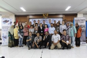 Rory Walshe attended the British Council Workshop on Disaster-risk reduction, resilience, well-being and culture in Indonesia. Image copyright Rory Walsh
