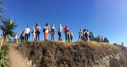 California field class 2015. Image by Chris Carbone.