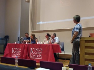 The Joint Summer Conference took place at Kings College London in September