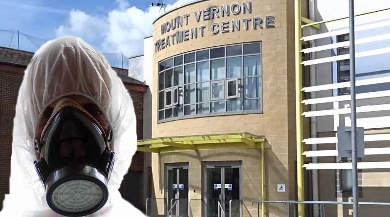 corona virus hospital mount veron hertfordshire
