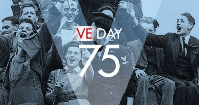 Victory in Europe Day, (known as VE Day or V-E Day) celebrates the formal acceptance by the Allies of World War II of Nazi Germany's unconditional surrender of armed forces on 8 May 1945.