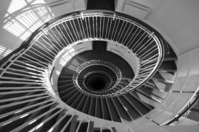 Premier Inn Staircase