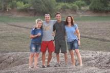 Happy travellers - Estelle, Chris, Ryan and Shara