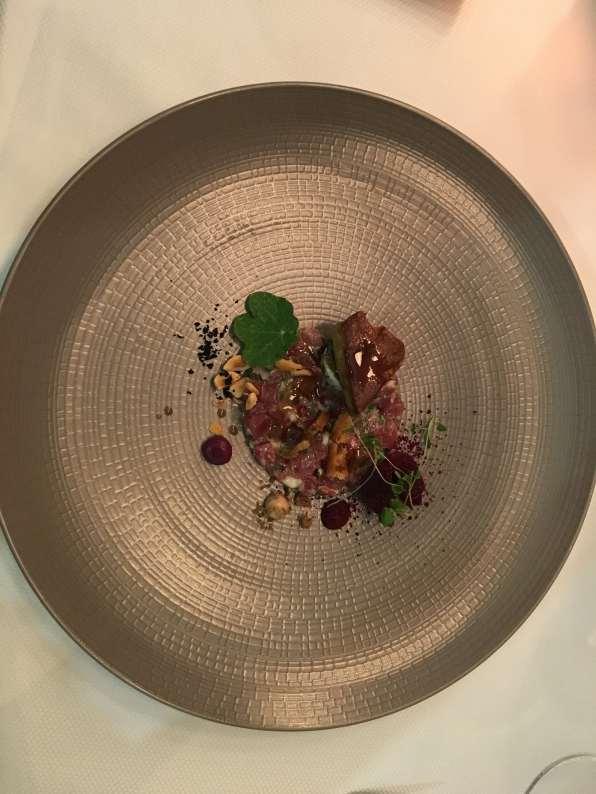 tartare thon, One-o-one, seafood