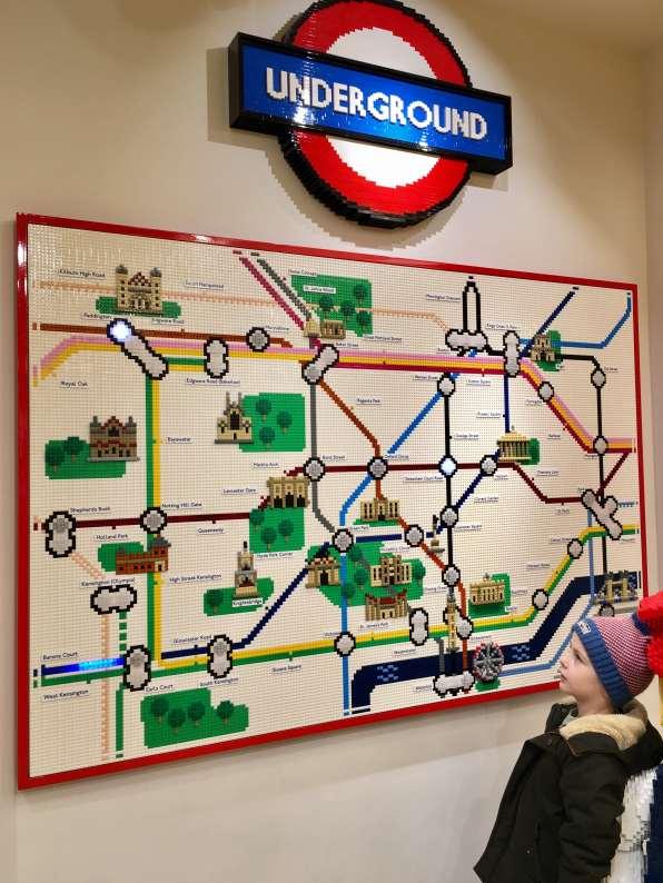 Lego, jouet, toy, plan de métro
