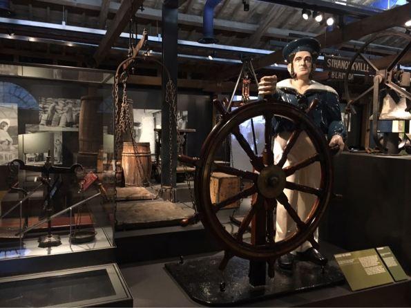 Docklands Museum, London, Canary Wharf