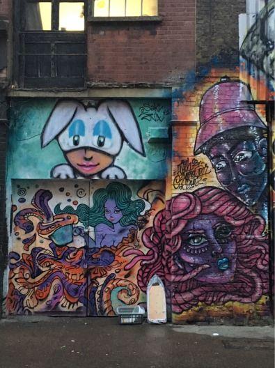 Amara Por Dios, Street art, Shoreditch, London
