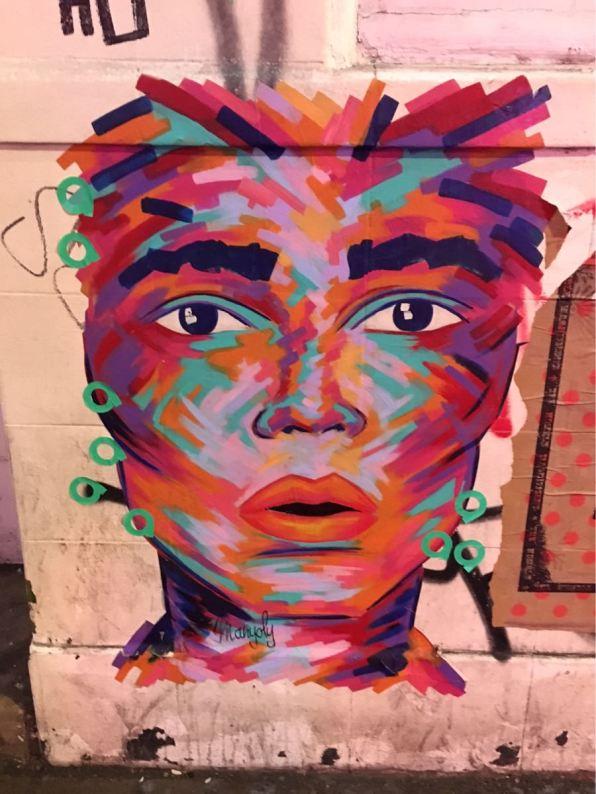 Manyoly, Artist, Street art, Brick Lane, London