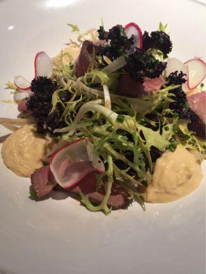 Aster Victoria, Café, London, smoked duck salad