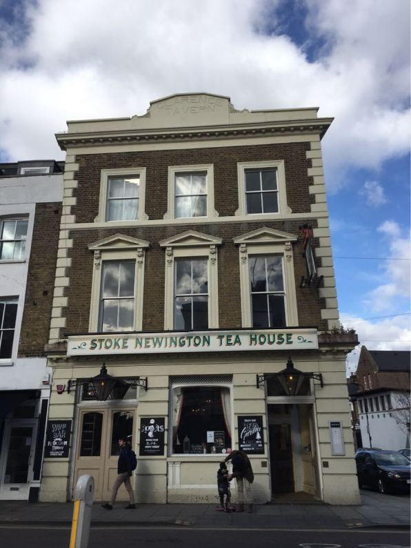 Stoke Newington Tea House, Stoke Newington, London