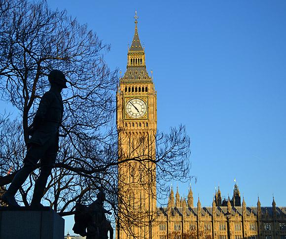 Clock Ben Sound Big Tower