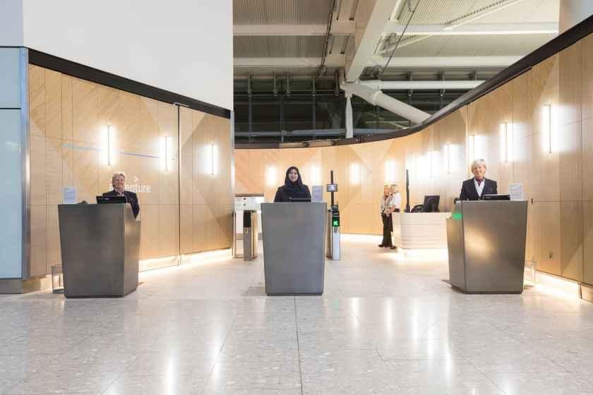 British Airways First Wing London Heathrow Terminal 5 (Credit: British Airways)