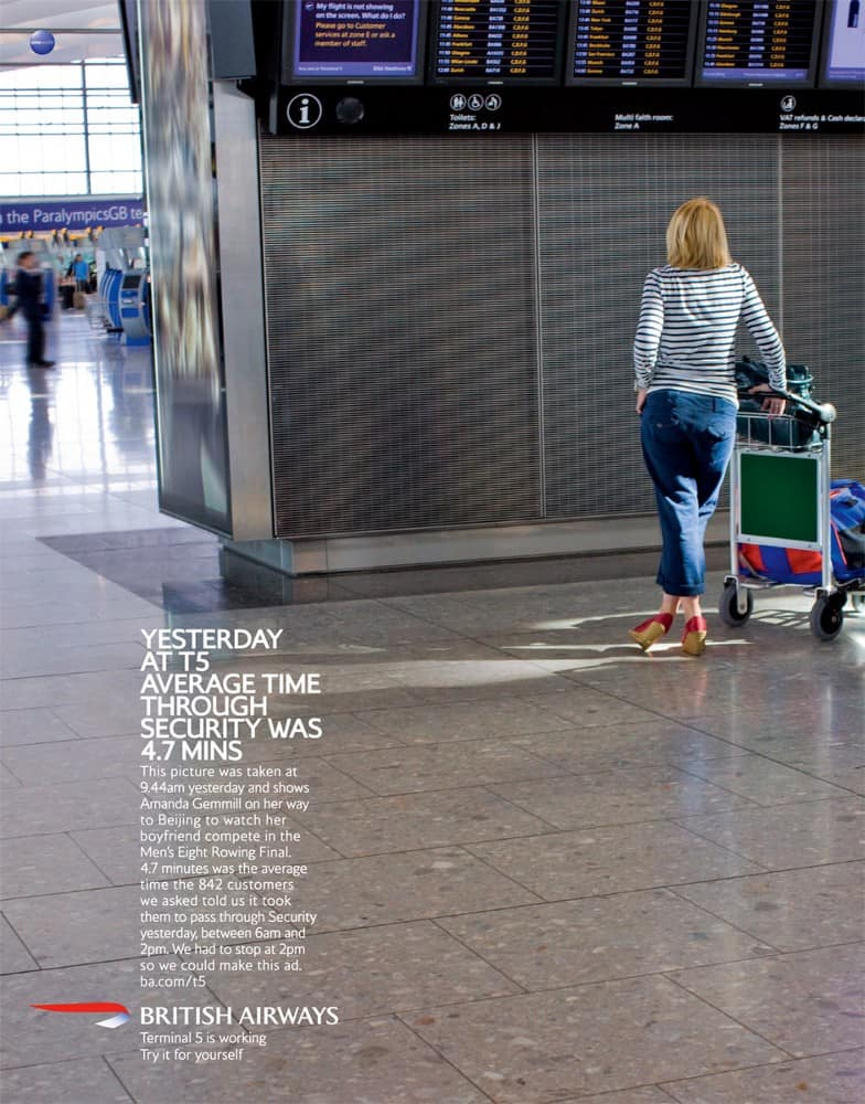 Terminal 5 is working - BBH for British Airways, 2008