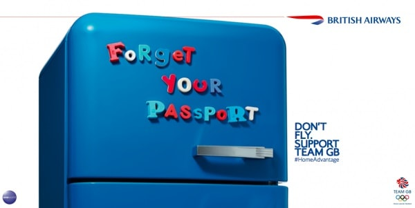 BBH British Airways 2012 Olympics Print Campaign
