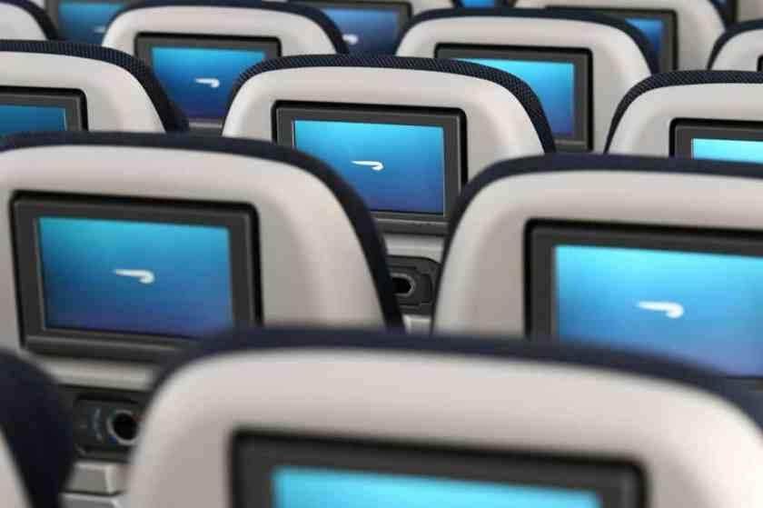 BA Airbus A380 World Traveller In Flight Entertainment