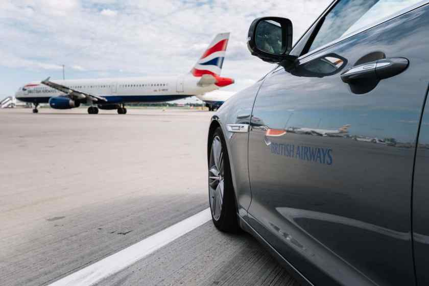 British Airways Premium Transfer Drive (Image Credit: British Airways)