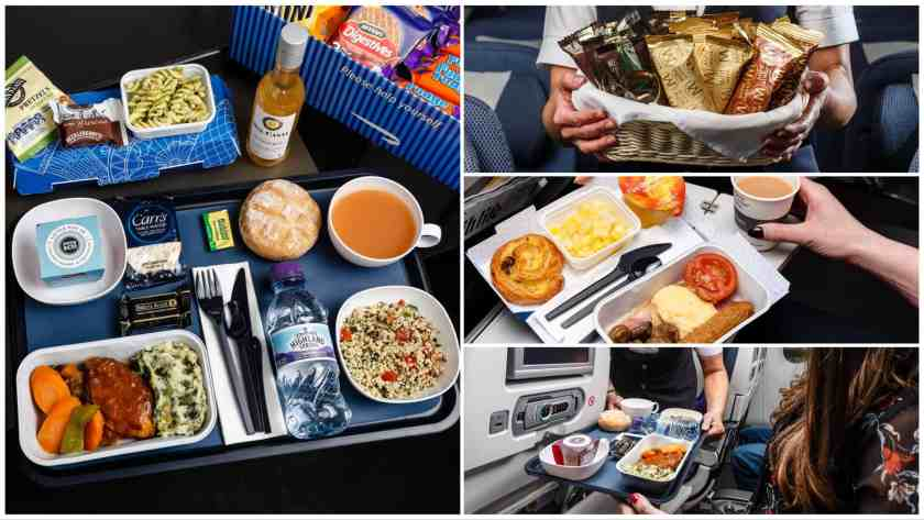 BA World Traveller Catering January 2018