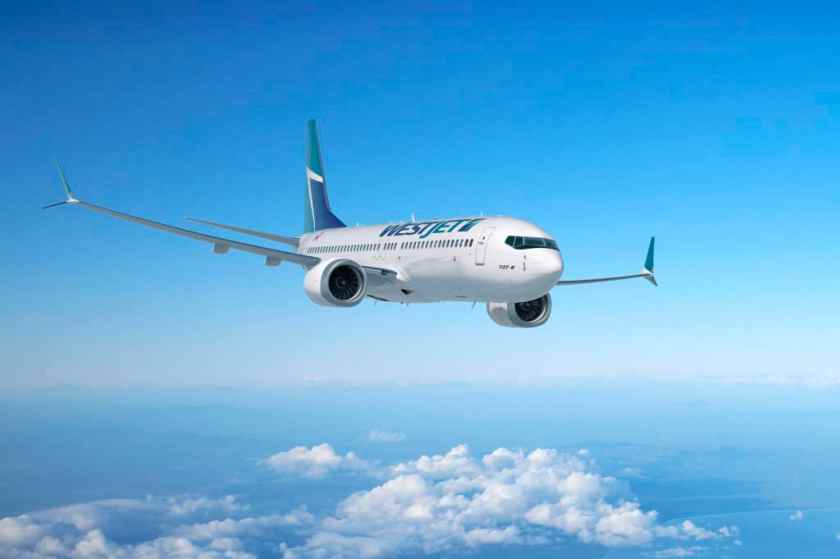 WestJet Boeing 737-800 MAX Aircraft
