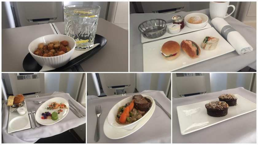 BA Club World Catering London Heathrow - Philadelphia