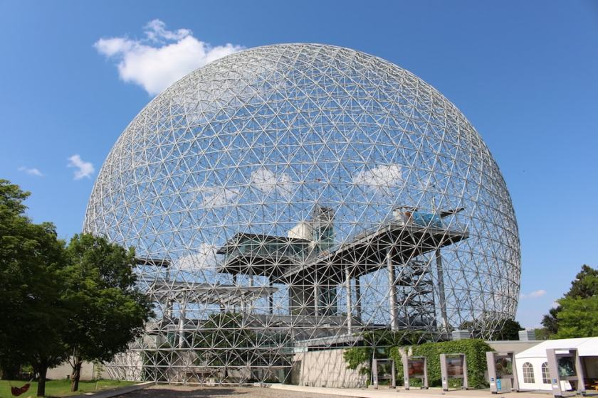 Biosphere, Île Sainte-Hélène, Montreal (Image Credit: London Air Travel)