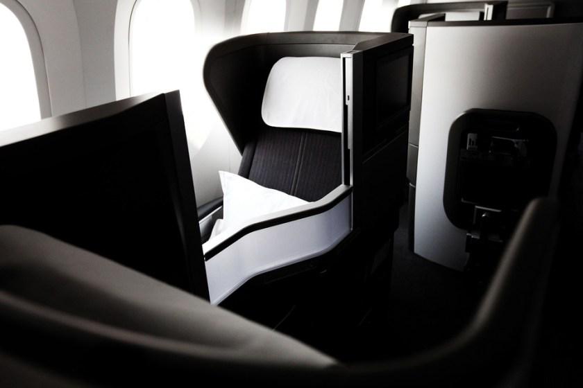 Club World on Boeing 787 Dreamliner