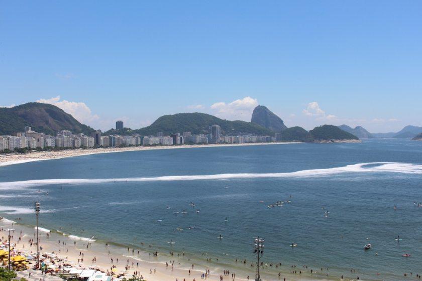 Copacabana Beach, Rio de Janeiro (Image Credit: London Air Travel)