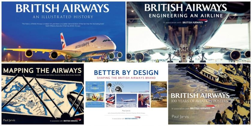 The books of Paul Jarvis on British Airways